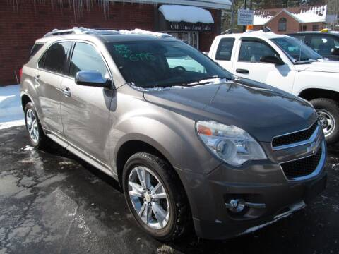 2010 Chevrolet Equinox for sale at Old Time Auto Sales, Inc in Milford MA