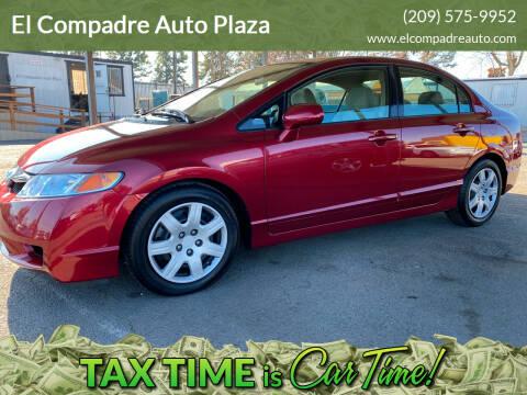 2010 Honda Civic for sale at El Compadre Auto Plaza in Modesto CA