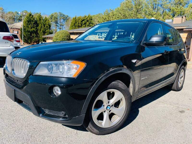 2012 BMW X3 for sale at Classic Luxury Motors in Buford GA