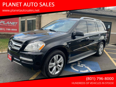 2012 Mercedes-Benz GL-Class for sale at PLANET AUTO SALES in Lindon UT