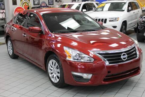 2015 Nissan Altima for sale at Windy City Motors in Chicago IL