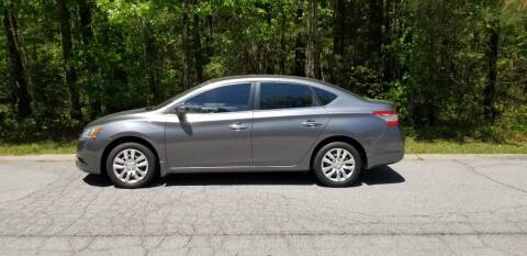 2015 Nissan Sentra for sale at MATRIXX AUTO GROUP in Union City GA