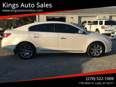 2010 Buick LaCrosse for sale at Kings Auto Sales in Cadiz KY