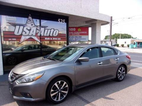 2016 Nissan Altima for sale at USA Auto Inc in Mesa AZ
