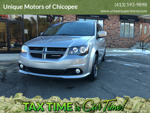 2019 Dodge Grand Caravan for sale at Unique Motors of Chicopee in Chicopee MA