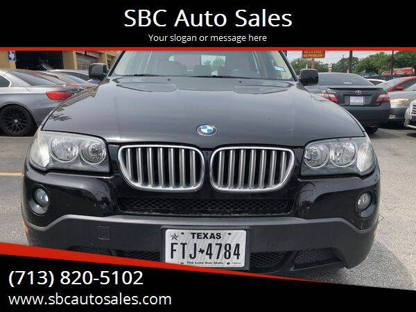 2007 BMW X3 for sale at SBC Auto Sales in Houston TX