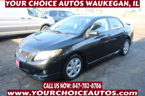 2009 Toyota Corolla for sale at Your Choice Autos - Waukegan in Waukegan IL