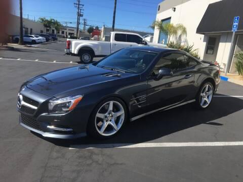 2014 Mercedes-Benz SL-Class for sale at MANGIONE MOTORS ORANGE COUNTY in Costa Mesa CA