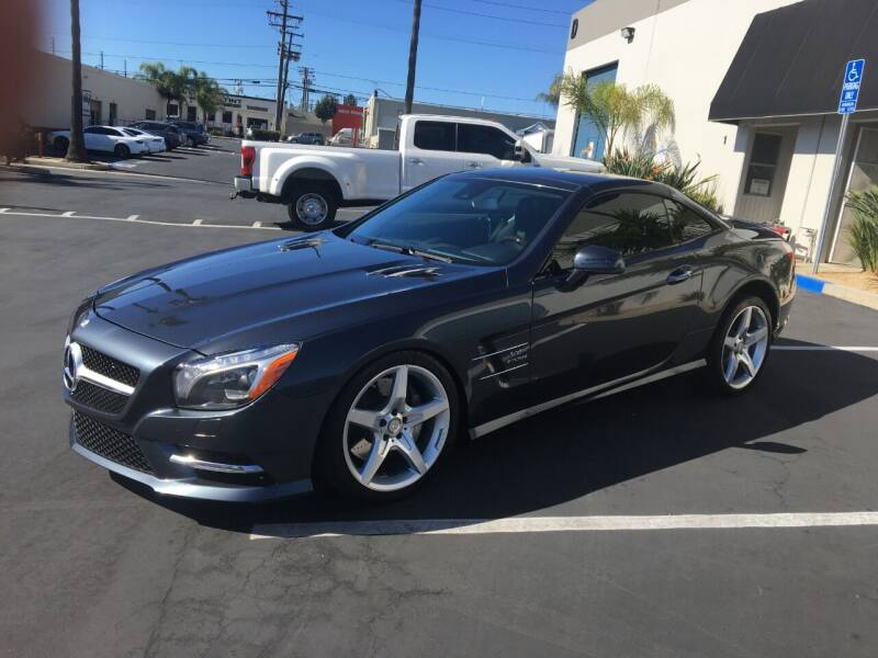 2014 Mercedes-Benz SL-Class for sale at MANGIONE MOTORS ORANGE COUNTY in Costa Mesa CA