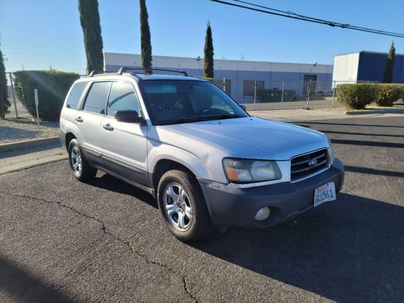 2004 Subaru Forester for sale at The Auto Barn in Sacramento CA