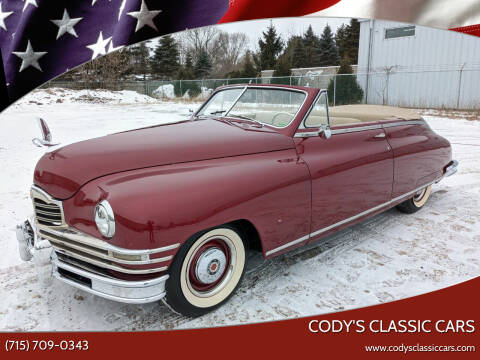 1949 Packard Super Eight Victoria Coupe for sale at Cody's Classic Cars in Stanley WI