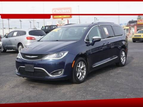 2017 Chrysler Pacifica for sale at Autowest of GR in Grand Rapids MI