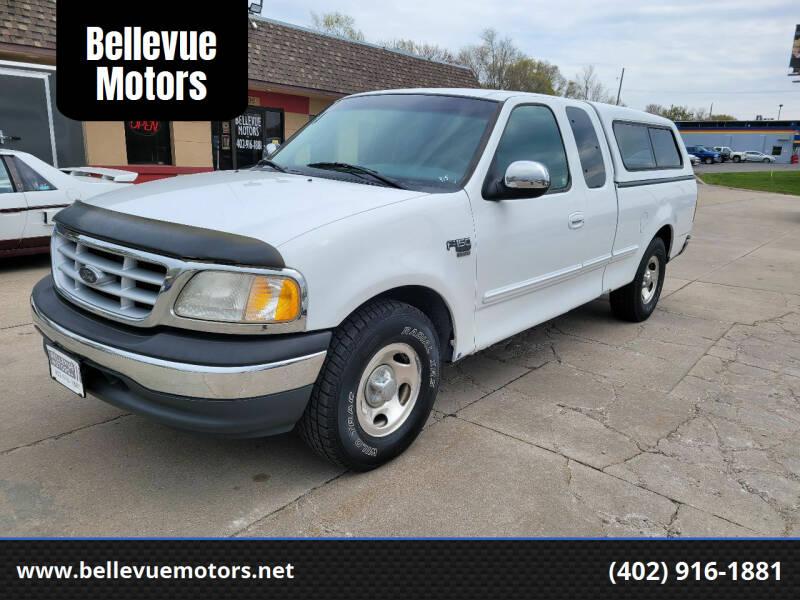 1999 Ford F-150 for sale at Bellevue Motors in Bellevue NE