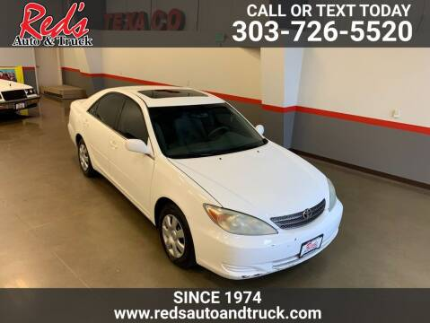 2004 Toyota Camry for sale at Red's Auto and Truck in Longmont CO
