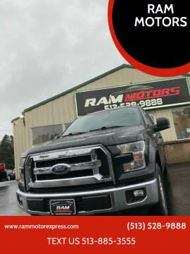 2016 Ford F-150 for sale at RAM MOTORS in Cincinnati OH