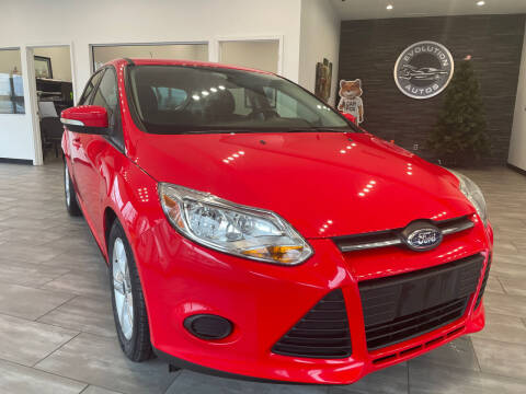 2014 Ford Focus for sale at Evolution Autos in Whiteland IN