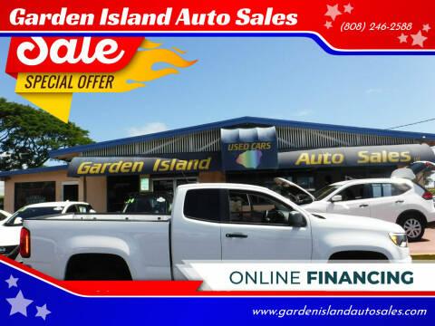 2017 Chevrolet Colorado for sale at Garden Island Auto Sales in Lihue HI