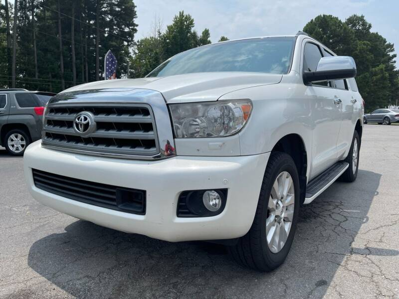 2011 Toyota Sequoia for sale at Airbase Auto Sales in Cabot AR