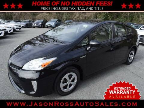 2015 Toyota Prius for sale at Jason Ross Auto Sales in Burlington NC