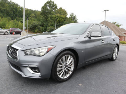 2018 Infiniti Q50 for sale at RUSTY WALLACE KIA OF KNOXVILLE in Knoxville TN