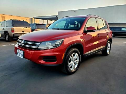 2015 Volkswagen Tiguan for sale at PRICE TIME AUTO SALES in Sacramento CA