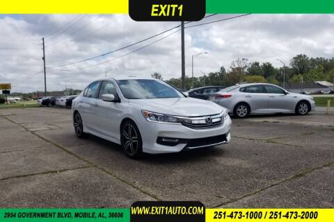 2017 Honda Accord for sale at Exit 1 Auto in Mobile AL