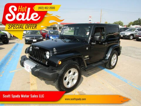 2014 Jeep Wrangler for sale at Scott Spady Motor Sales LLC in Hastings NE