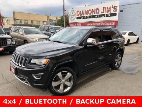 2015 Jeep Grand Cherokee for sale at Diamond Jim's West Allis in West Allis WI