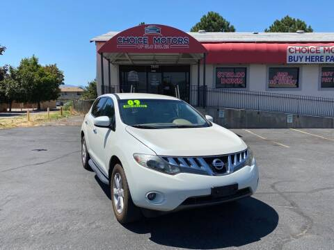 2009 Nissan Murano for sale at Choice Motors of Salt Lake City in West Valley  City UT