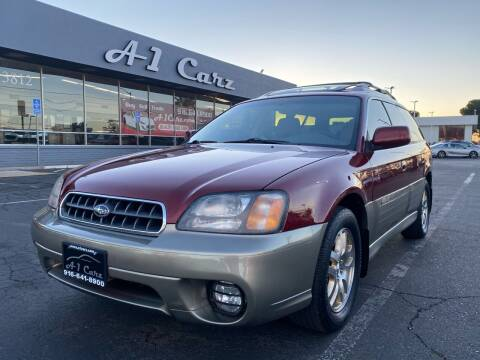 2003 Subaru Outback for sale at A1 Carz, Inc in Sacramento CA