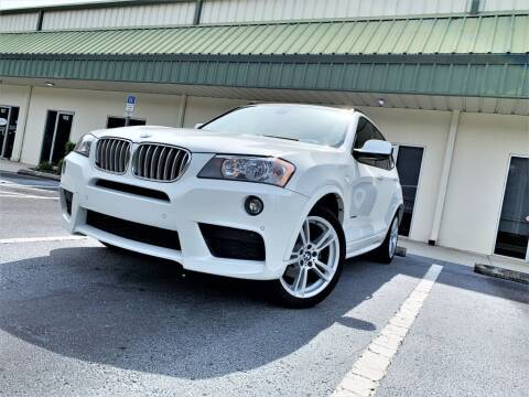 2014 BMW X3 for sale at Fisher Motor Group LLC in Bradenton FL