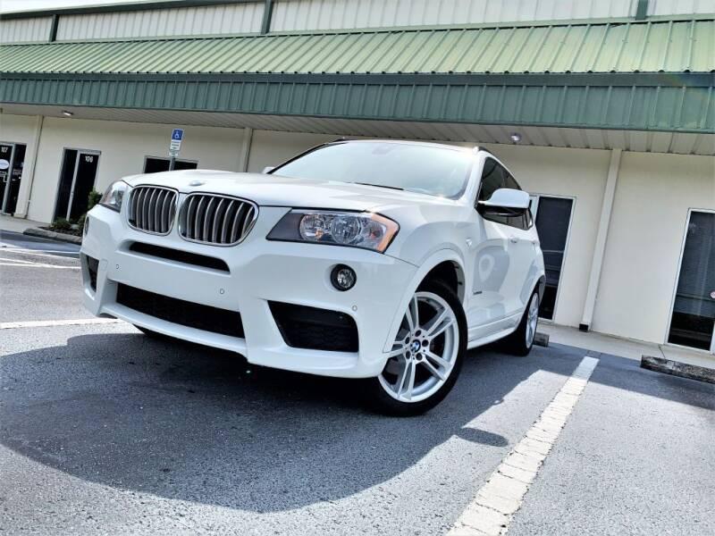 2014 BMW X3 for sale at Fisher Motor Group LLC in Bradenton FL