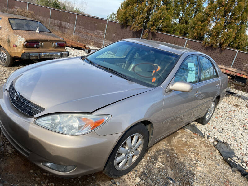 2003 Toyota Camry for sale at Encore Auto Parts & Recycling in Jefferson GA