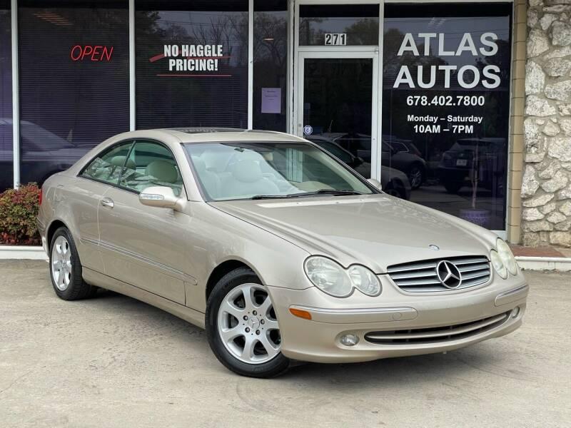 2004 Mercedes-Benz CLK for sale at ATLAS AUTOS in Marietta GA