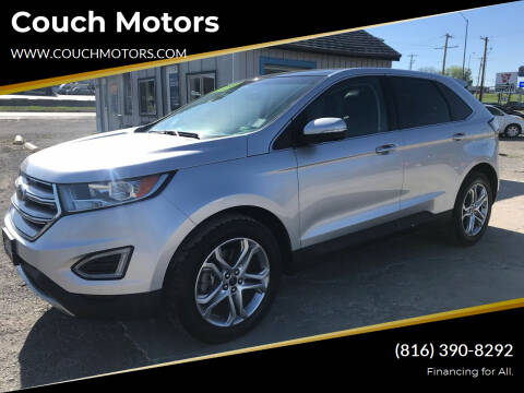 2015 Ford Edge for sale at Couch Motors in Saint Joseph MO