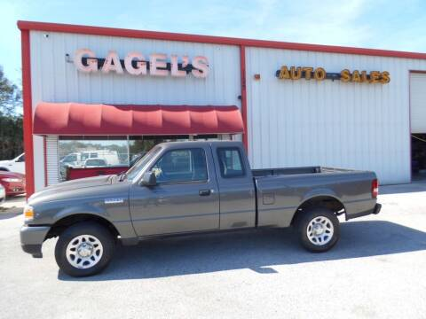 2010 Ford Ranger for sale at Gagel's Auto Sales in Gibsonton FL