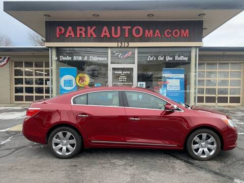 2011 Buick LaCrosse for sale at Park Auto LLC in Palmer MA