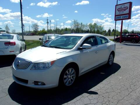 2012 Buick LaCrosse for sale at DAVE KNAPP USED CARS in Lapeer MI