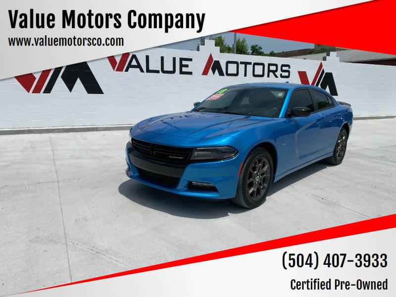2018 Dodge Charger for sale at Value Motors Company in Marrero LA