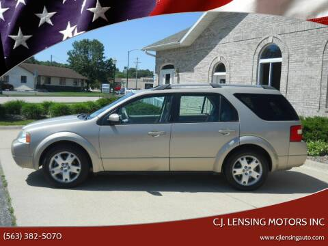 2005 Ford Freestyle for sale at C.J. Lensing Motors Inc in Decorah IA