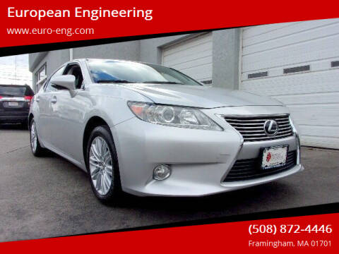 2013 Lexus ES 350 for sale at European Engineering in Framingham MA