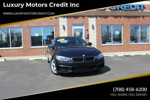 2015 BMW 4 Series for sale at Luxury Motors Credit Inc in Bridgeview IL