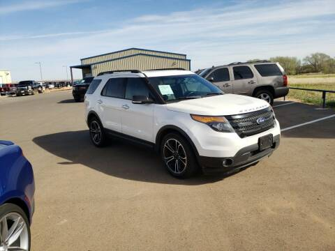 2014 Ford Explorer for sale at South Plains Autoplex by RANDY BUCHANAN in Lubbock TX