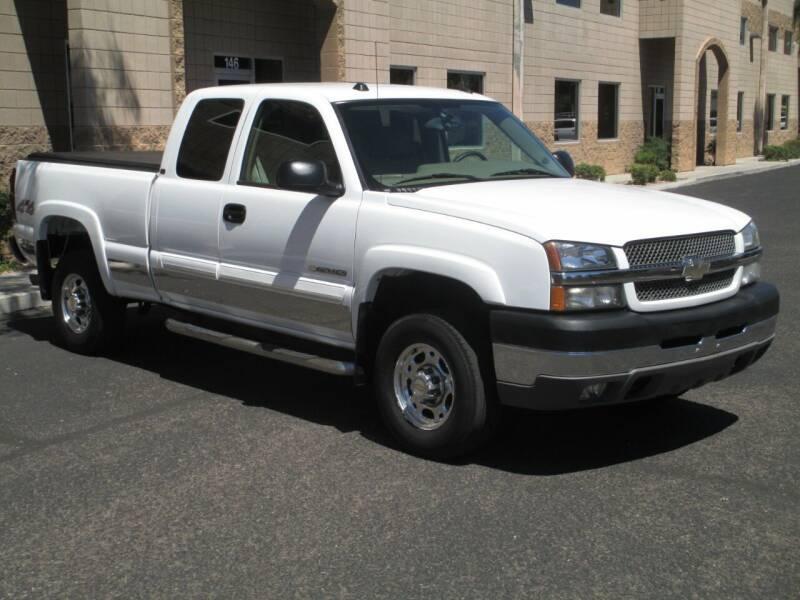 2004 Chevrolet Silverado 2500HD for sale at COPPER STATE MOTORSPORTS in Phoenix AZ