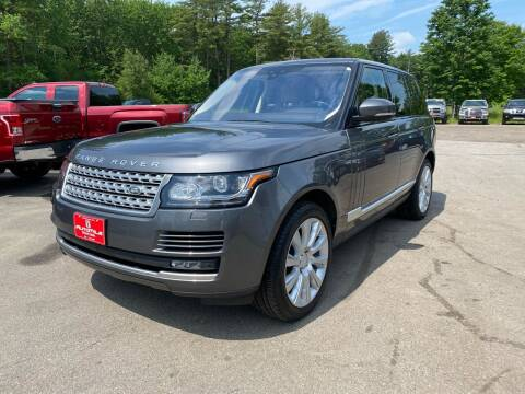2017 Land Rover Range Rover for sale at AutoMile Motors in Saco ME