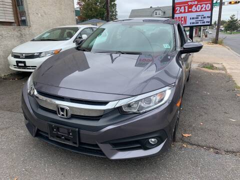 2017 Honda Civic for sale at M & C AUTO SALES in Roselle NJ