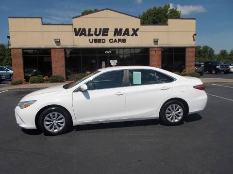 2015 Toyota Camry for sale at ValueMax Used Cars in Greenville NC