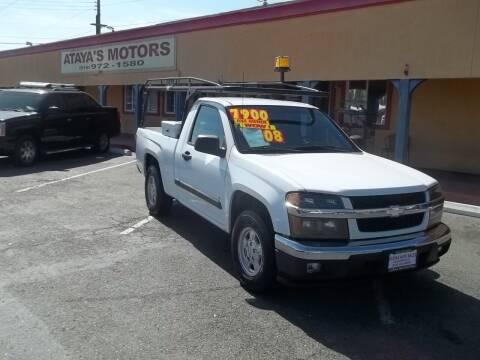 2008 Chevrolet Colorado for sale at Atayas Motors INC #1 in Sacramento CA