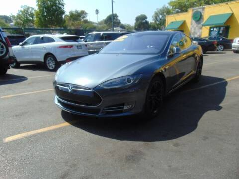 2014 Tesla Model S for sale at Santa Monica Suvs in Santa Monica CA