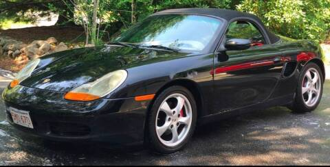 2002 Porsche Boxster for sale at BORGES AUTO CENTER, INC. in Taunton MA